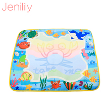 60X49cm 4 Colors Water Drawing Mat Magic Water Pen Drawing Board Baby Play Mat Educational Toys JN1374NC