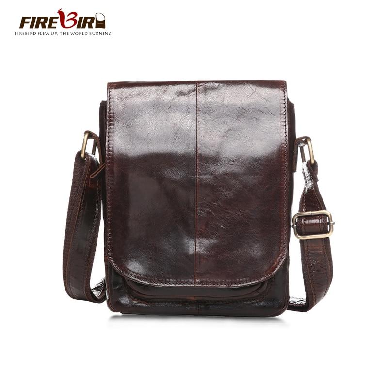 Genuine Leather  bag men Vintage messenger bag Brand designer Mens Travel New Bags Shoulder &amp; Crossbody Bags HN248<br><br>Aliexpress