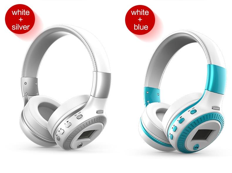 Zealot B19 Wireless Headphones LCD Display Screen HiFi Bass Stereo Earphone Bluetooth Headset with Mic + FM Radio + TF Card Slot 22