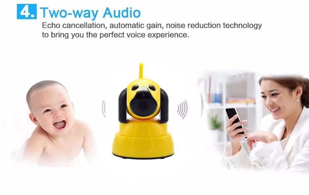 Wistino 720P Wireless IP Camera Motion Detection Home Baby Monitor IR Night Vision WiFi Camera Alarm Onvif Surveillance Security (11)