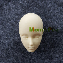 Mom&Pea 1118 Free Shipping Complete Head & Face Silicone mold Cake Decoration Fondant Cake 3D Mold Food Grade