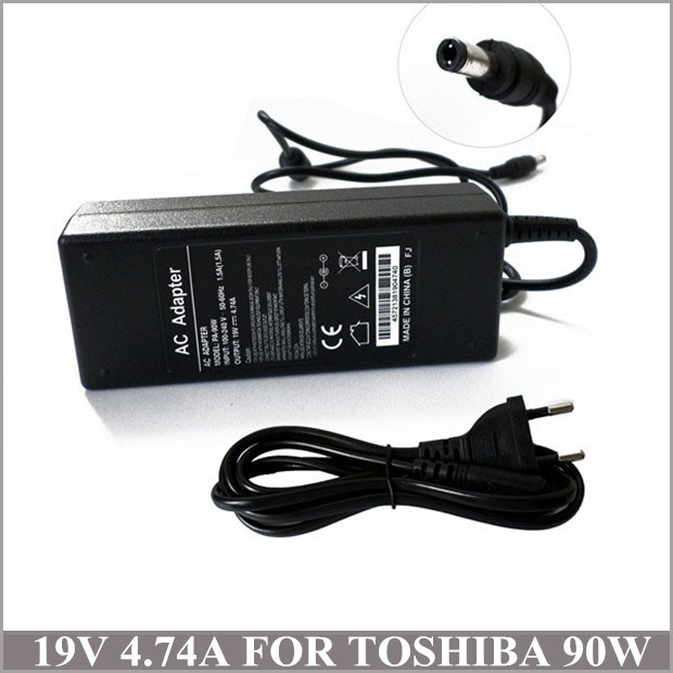 19V 4.74A 90W Laptop Power Charger AC Adapter Caderno Toshiba 3000 1905 2430 PA3165U-1ACA