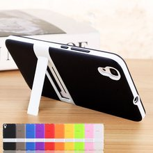 For Huawei Y6 Case 5.0 inch TPU + PC 2 in 1 Stent Ultra Thin TPU Soft Rubber PC frame For Huawei Honor 4A Case