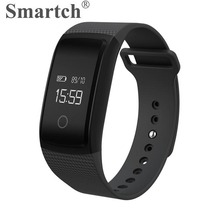 Smartch A09 Bluetooth Smart Wristband,Fitness Tracker,Pedometer,Vibration Alarm Bracelet,Heart Rate Blood Pressure Monitor