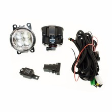 For VAUXHALL ASTRA Mk IV H11 Wiring Harness Sockets Wire Connector Switch + 2 Fog Lights DRL Front Bumper 5D Lens LED Lamp(China)