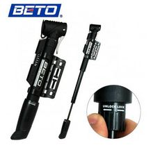 BETO Cycling Bike Bicycle 1-way Plastic Telescoping Hand Pressure Inflator Tire Pump