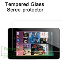 "0.33 Premium tempered glass For LG GOOGLE NEXUS 7 first generation 7.0""  Anti-shatter LCD Screen Protector Film with"