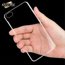 KISSCASE Crystal Clear Plastic PC Hard Case for iphone 6 4.7 Slim Phone Shell Back Cover Bags Transparent for iPhone 6 6S Coque
