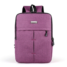 Picano Urban Minimalist Messenger Backpack Solid Notebook Computer Laptop Backpack Youth Teenager School Rucksack PCN058
