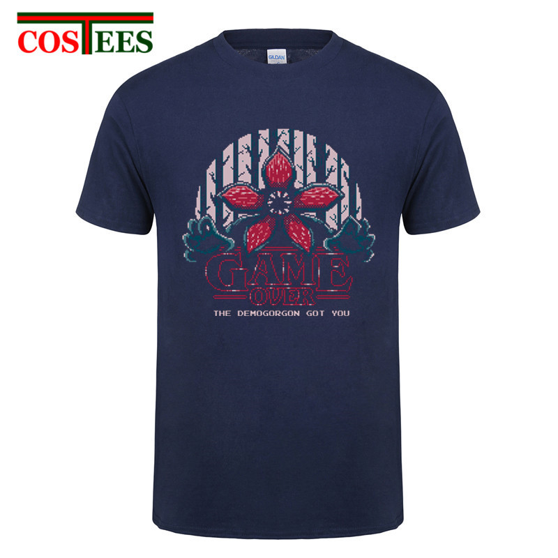 Stranger Things Demogorgon T-Shirt Unisex Cotton Adult Sizes Eleven Upside Down