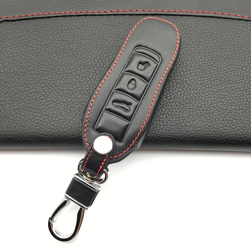 Leather Key Case for Porsche 911 968 986 996 997 Keyfob