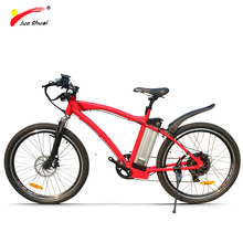 "jueshuai 500W 48V 12AH Electric Bicycle 26"" Aluminum Alloy Mountain Ebike Lithium Battery MTB velo electrique Electric Bicycle(China)"