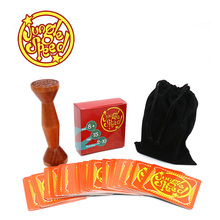 gold wood token jungle speed board game for party fun cards(China)