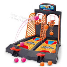 Hot desktop basketball Mini Finger Shoot a basket Child table games Double play interaction toy Model Building Fun toy gift(China)