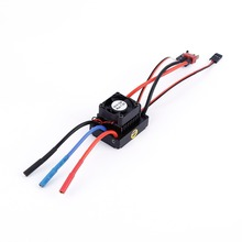 Waterproof brushless ESC 60A Sensorless Brushless motor for 1:10 RC Car Truck Electronic Speed Controller(China)