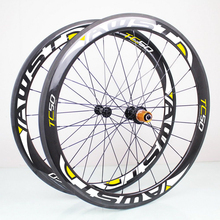 Light weight carbon wheels 38mm 700c bicycle wheel 50mm 18 21 holes roues carbone route carbon road wheels tubular and clincher