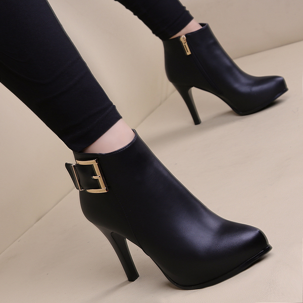boots women Female High Heels Shoes point toe autumn ankle boots for women sy-1931<br><br>Aliexpress