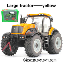 Alloy engineering car tractor toy bulldozer model  farm vehicle belt boy toy car model children's Day gifts