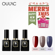 Gel Lacquer Oulac Newest colors Gel Nail Polish 12ml Professional Manufacturer High Quality UV Gel