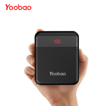 Yoobao M4Q 10000mAh Powerbank Quick Charge 3.0 Power Bank External Battery Portable Charger Support Huawei Fast Charge Mini Size(China)