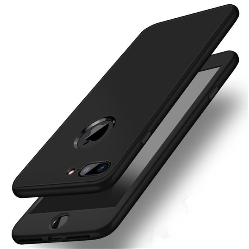Luxury Soft TPU 360 Full Cover Cases For iPhone 9 X 8 7 6 6S Case 5 5S SE Cover Cases For iPhone 6 7 8 9 Plus case 6.1 6.5 inch (27)