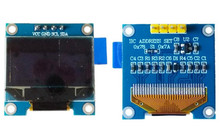 0.96 inch 4PIN White/Blue/Yellow Blue OLED Module SSD1306 Driver IC 128*64 IIC Interface (B Version)(China)