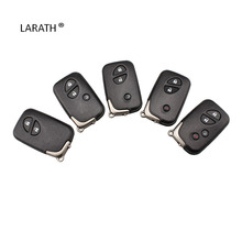 LARATH For Lexus IS250 RX350 Remote Shell Case Key 4 Button Fob Keyless Entry Replacement