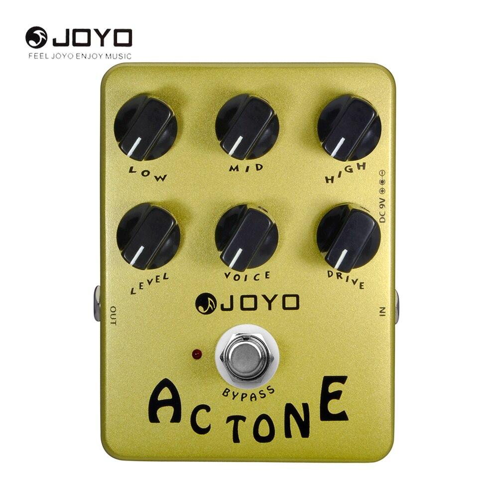 JOYO JF-13 AC Tone Electric Guitar Effect Pedal True Bypass Music InstrumentJF 13<br>