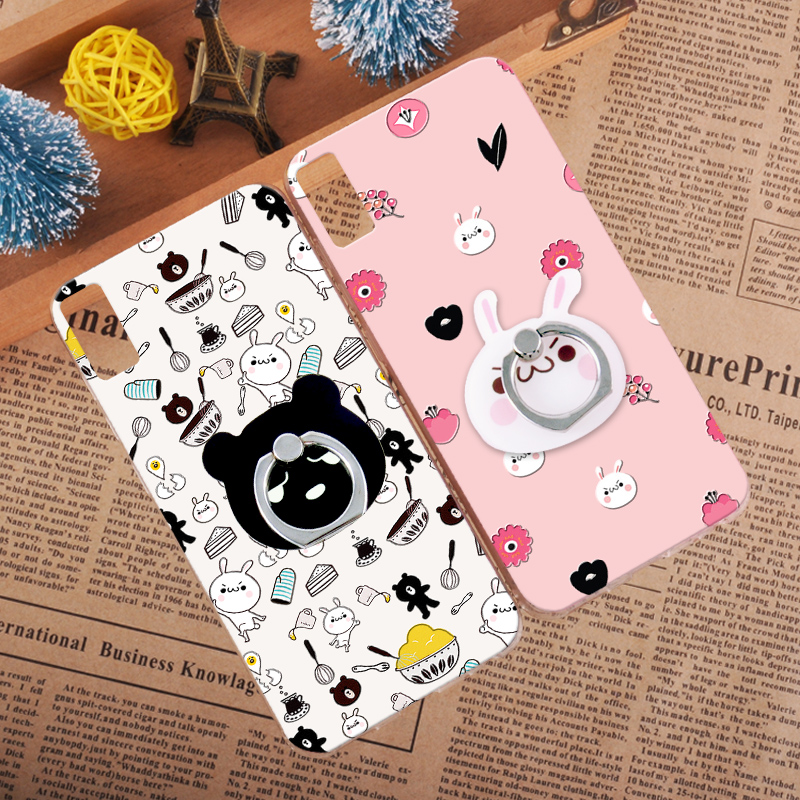 Lovely Panda 3D Relief Case Cover Lenovo vibe shot Z90-7 Retro Rabbit Brown Bear Hard Shell Lenovo Vibe P1 P1C58