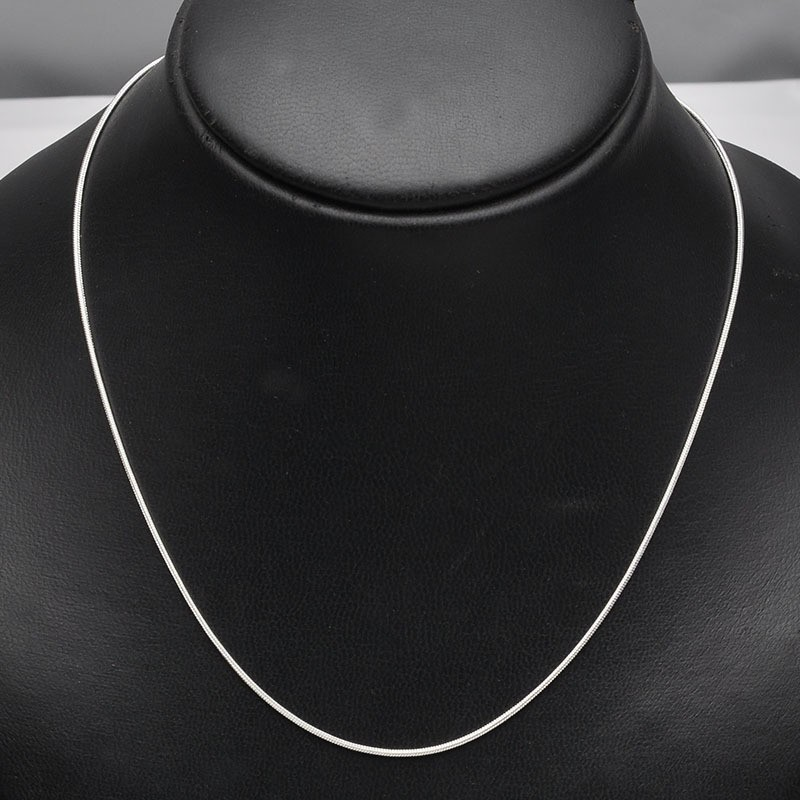 Cheap-Wholesale-50pcs-44cm-Silver-Plated-Copper-Short-Snake-Necklace-Chain-With-Lobster-Clasp-For-DIY (3)