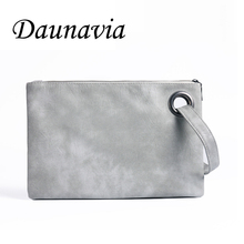 Fashion Solid wholesale Women's Clutch Bag Leather Women Envelope Bag Clutch Evening Bag Female Clutches Handbag Free ND001(China)