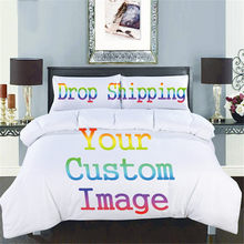 ZEIMON 3D Printing Custom Bedding Set Polyester Home Textiles Twin Queen King Size Duvet Cover Sets(China)