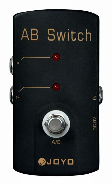 JOYO JF-30 Guitar Effects Pedals, A/ B Switch / True bypass design/wholesale<br>