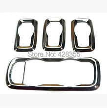 New ! High Quality Stainless Steel interior trim For Ford ecosport fiesta Window lift switch decoration box panel cover
