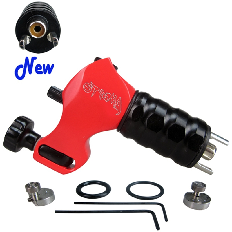 Professional Tattoo Machine Stigma V4 Prodigy Rotary Tattoo Guns Red Color Wholease Price For Tattoo Supply Free Shipping(China)