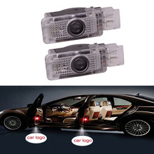 1Pair Car Welcome Warning Light LED Car Door Projector Light Glowing Logo Projection For W203 CLK W209 SLK R171 SLR C119 W240