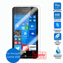 For Nokia Microsoft Lumia 650 Tempered Glass Screen Protector 9H 2.5D Safety Protective Film to phone case projector accessories