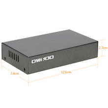 100Mbps 4 Port POE Switch IEEE802.3af Network Switch Ethernet Power over Ethernet  for IP Camera VoIP Phone AP devices 104POE-AF
