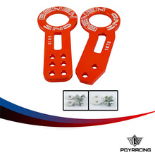 PQY RACING- RACING BENEN FRONT REAR TOW HOOKS SET UNIVERSAL FOR HONDA FOR CIVIC FOR ACURA INTEGRA PQY-THB31+41(China)