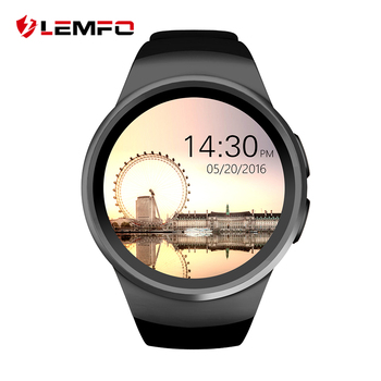 KW18 Smart Watch Bluetooth Intelligent Smartwatch Soutien SIM Moniteur de Fréquence Cardiaque Horloge