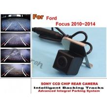 For Ford Focus MK3 2010~2014 imports HD CCD Night Vision / Intelligent Car Parking Camera with Tracks Module / Rear Camera(China)