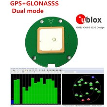 Use Ublox NEO-M8N GNSS chip Design GPS Module,GPS GLONASS Dual mode Support 5-10HZ output UART TTL level,(China)