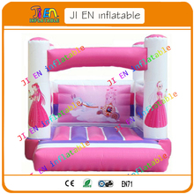 Free shipping inflatable bouncer / girl theme inflatable bouncy castle for children party / cheap inflatable bouncer with blower