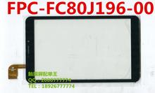 8inch FPC-FC80J196-00 FPC-FC80J211-00 for Prestigio MultiPad PMT3408 4G tablet pc capacitive touch screen panel glass FC80J196