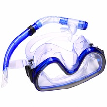 1Pcs 2017 Snorkel Diving Mask Swimming snorkel mask OR Breathing Tube Silicone Tube Dry Snorkel Mask Set Pool Equipment Accesso(China)