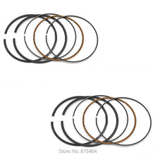 2 Pack/Lot Motorcycle Piston Rings STD Bore Size 57.5MM Motorbike Engine Parts For Kawasaki ZZR400 1992-2003 ZRX 400 I II III