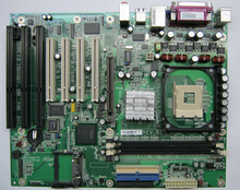 DFI / G4V620-B-G Industrial Motherboard Integrated Graphics 4 PCI slots 3 ISA slots