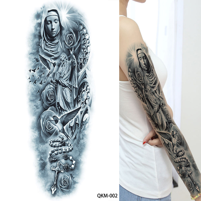 Acheter 1 Feuille Grand Grand Zeus Antique Grec Mythologie Tatouages