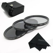 100% GUARANTEE New 58mm Neutral Density ND2 ND4 ND8 ND 2+4+8 Filter Set with case  58 mm Kit For camera DSLR Lens