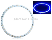 2PCS x blue/white/yellow/green/red 140mm 3528 42SMD Car Led Angel Eyes Halo Ring Light Car Light(China)